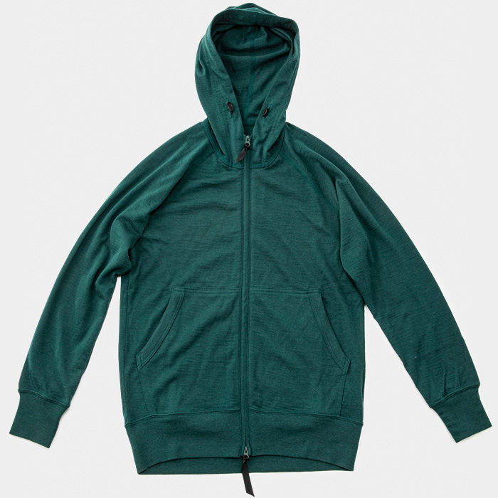 Merino Full Zip Hoody